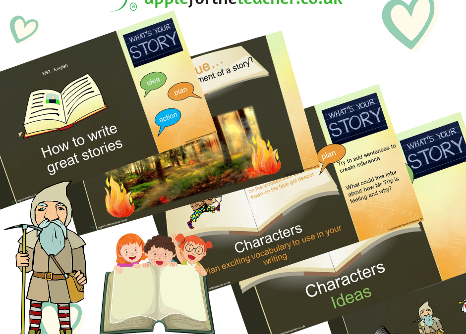 FREE Resource Story Writing Support Characters Powerpoint Presentation