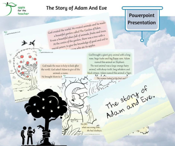 Story of Adam and Eve Powerpoint Presentation
