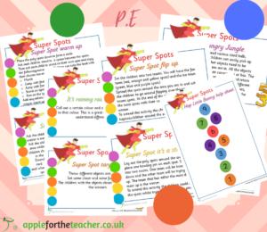 Super Spots PE Activity Cards SEN