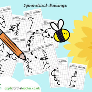 Symmetrical drawings Activities
