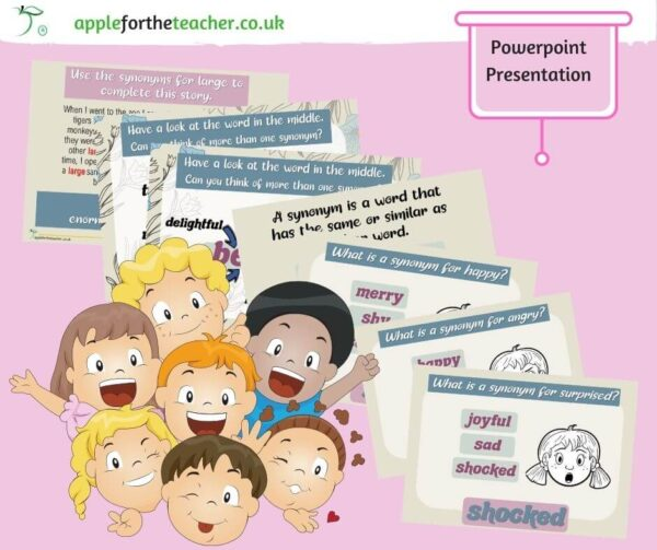 Synonyms Powerpoint Presentation