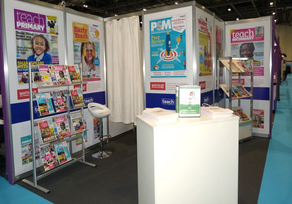 Teachprimary full on display at Excel London 2019