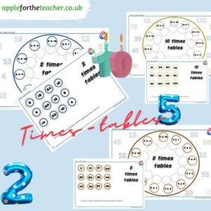 Times Tables 2 5 and 10 KS1
