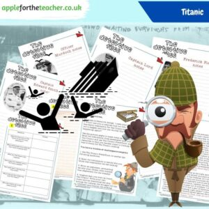 Titanic Detective Files comprehension activity