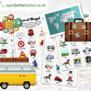 Travel Bingo Activity Free Download