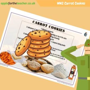 VE Day Carrot Cookies Recipe