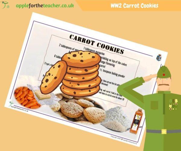 VE Day Carrot Cookies Recipe
