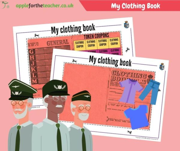 WW2 Clothing Ration Book