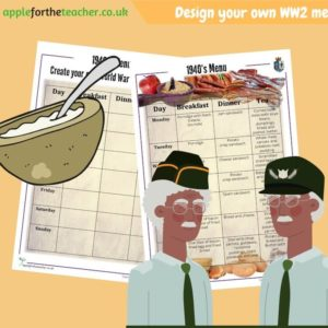 WW2 Create Your Own Menu