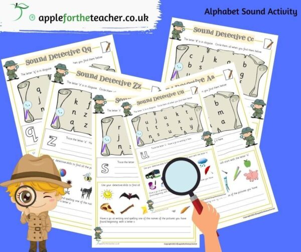 alphabet sound activity sheets