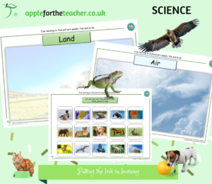 animals and environments science SEN
