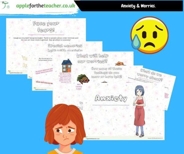 anxiety powerpoint presentation KS2