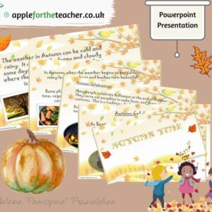 autumn time powerpoint presentation
