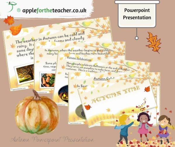 autumn time powerpoint presentation