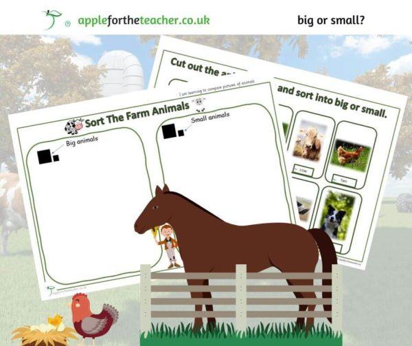 big and small animals farm