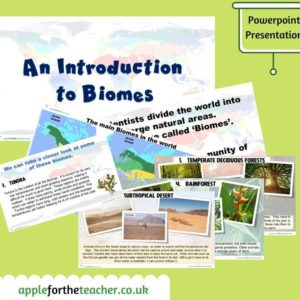 biomes powerpoint presentation KS2