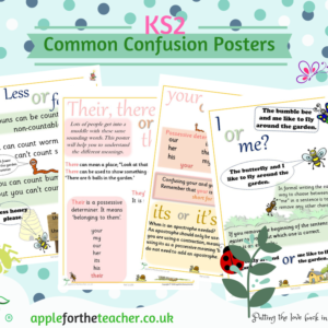 common confusion posters