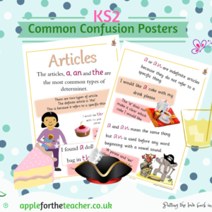 Common Confusion Posters Articles KS2