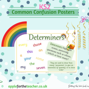 Common Confusion Poster Determines