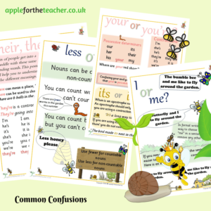 common confusions posters KS2