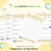 Comparatives and superlatives activity sheets Year 5 Year 6 KS2 writing