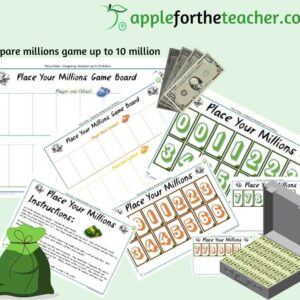 compare millions game to 10 million KS2