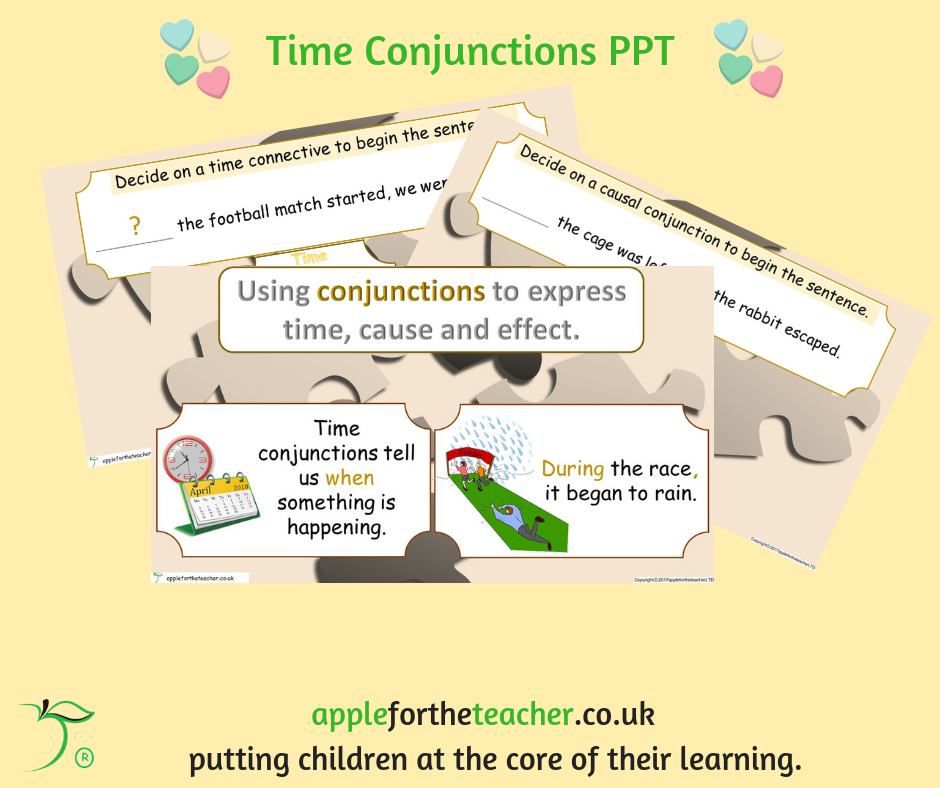 Conjunctions Powerpoint Presentation