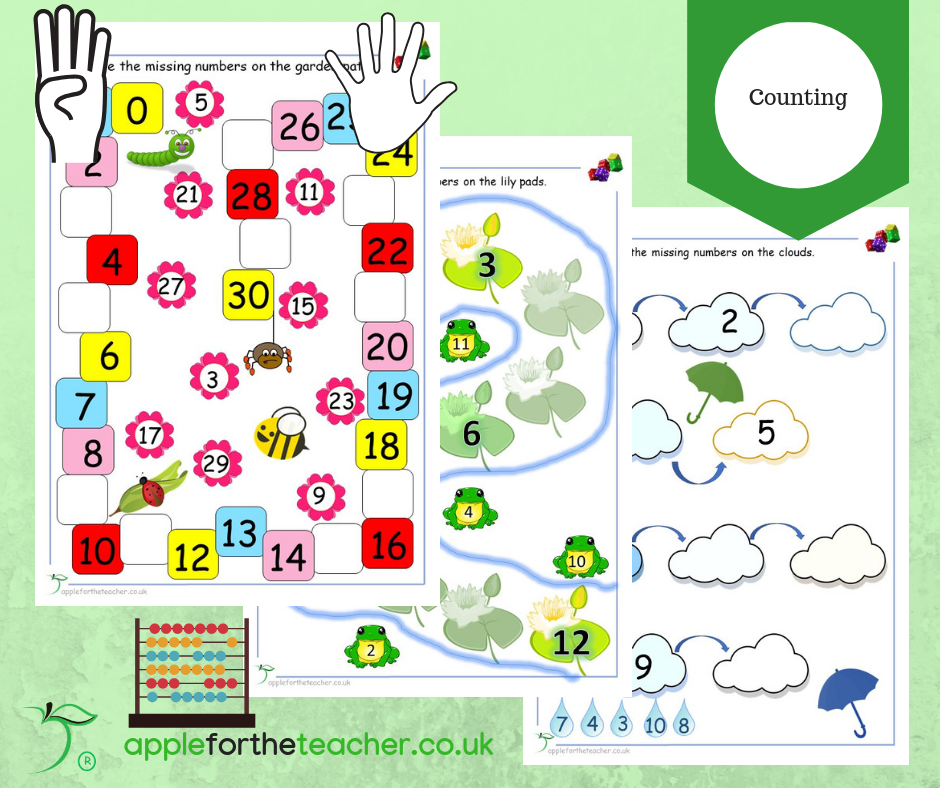 Counting Activities EYFS KS1