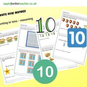 counting in tens reasoning KS1