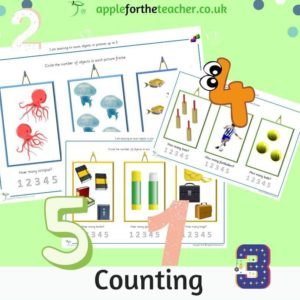 counting objects to 5
