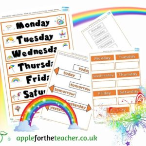 days of the week activity EYFS