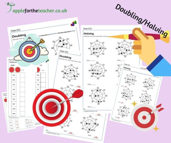 doubling and halving targets KS2