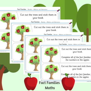 fact families activities ks1