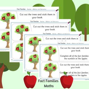 fact families activities ks1