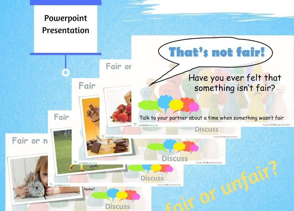 Fair or Unfair PSHE Powerpoint Presentation