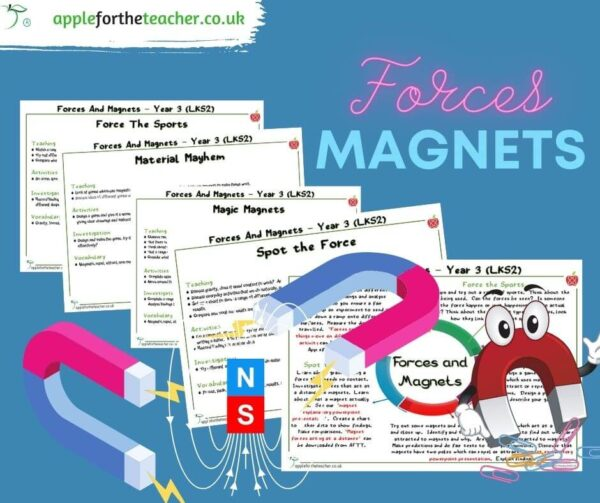 forces and magnets planning and activity ideas