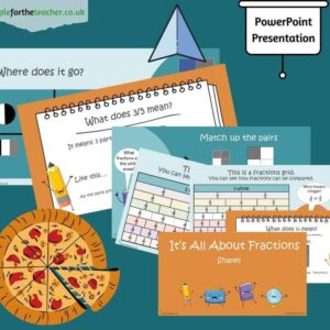 fractions of shapes Powerpoint Presentation