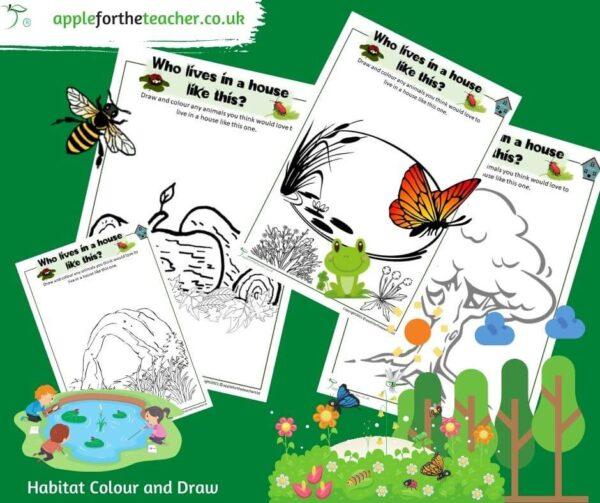 habitat colour and draw