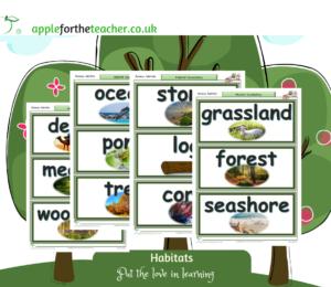 habitat vocabulary