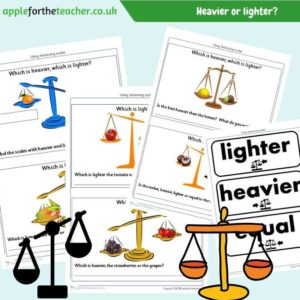 heavier or lighter activity measuring