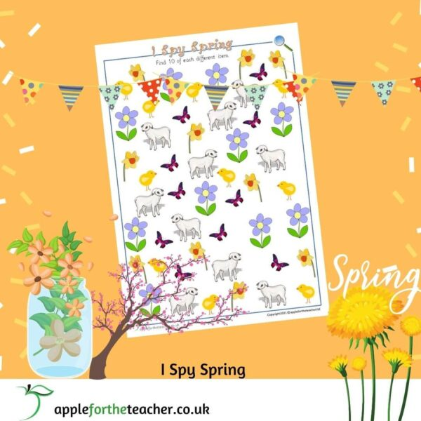 i spy spring to 10 counting