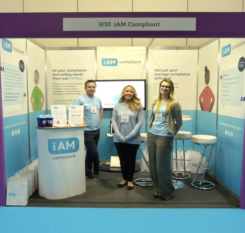 Stand (H30) The Education Show 2019 iAM Compliant