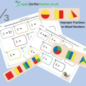 improper fractions to mixed numbers activity