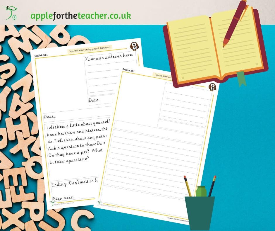 Informal Letter Writing Template Apple For The Teacher Ltd