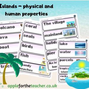 island home vocabulary geography