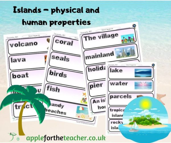 island home vocabulary geography