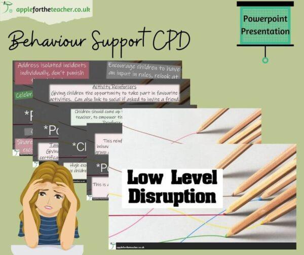 low level disruption powerpoint presentation