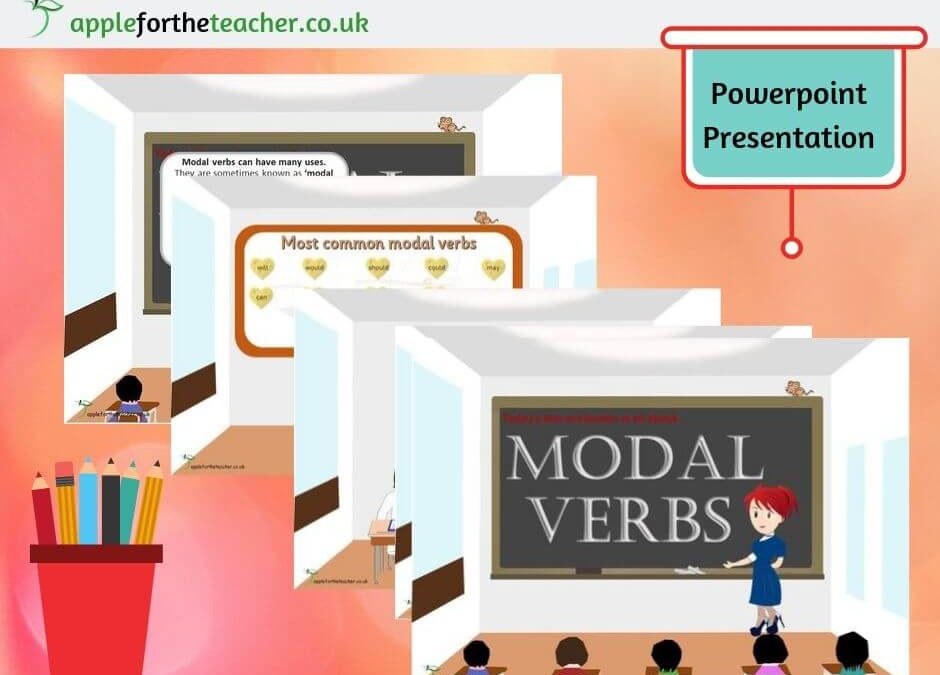 Model Verbs Powerpoint Presentation