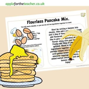 no flour pancake recipe