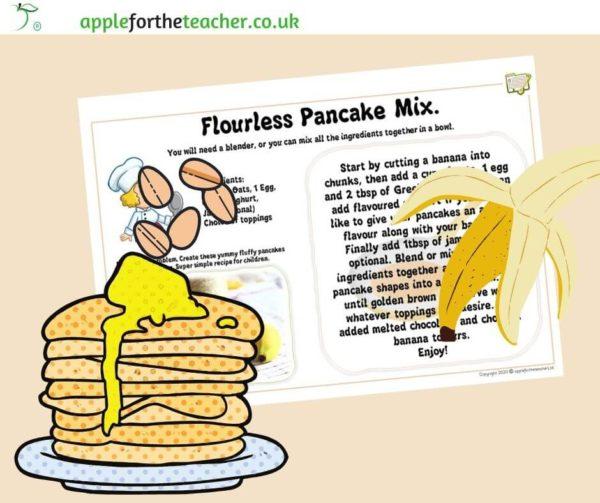 no flour pancake recipe